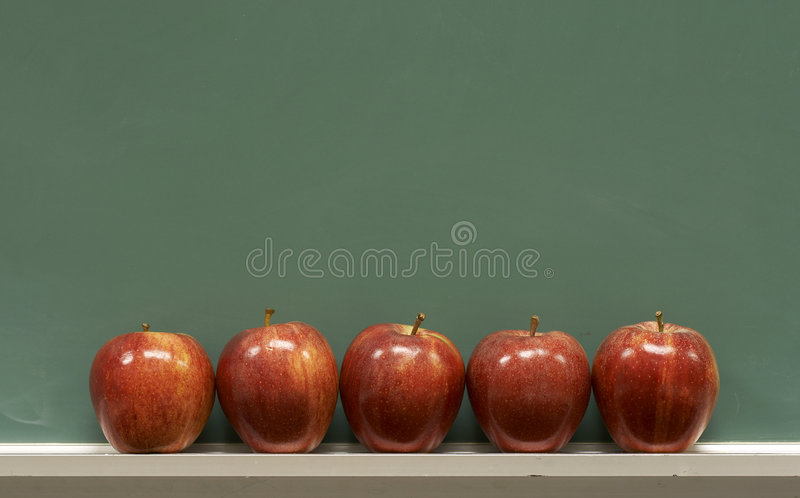 Download School apples stock photo. Image of class, write, math - 4825876