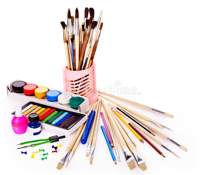 Download School Art Supplies Stock Photography - Image: 20314432