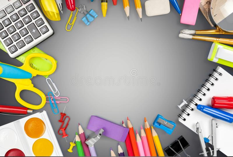 School royalty free illustration
