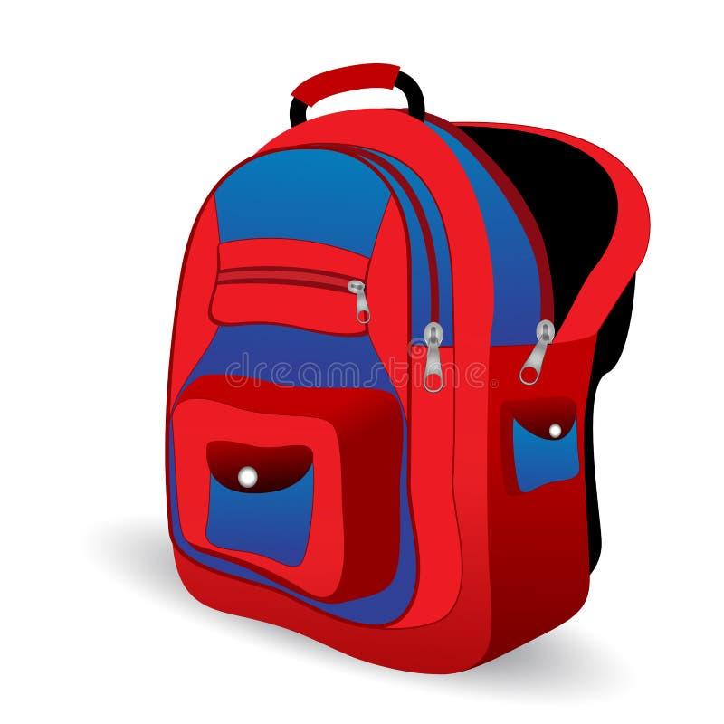 Download School bag stock illustration. Illustration of graphic - 18604985