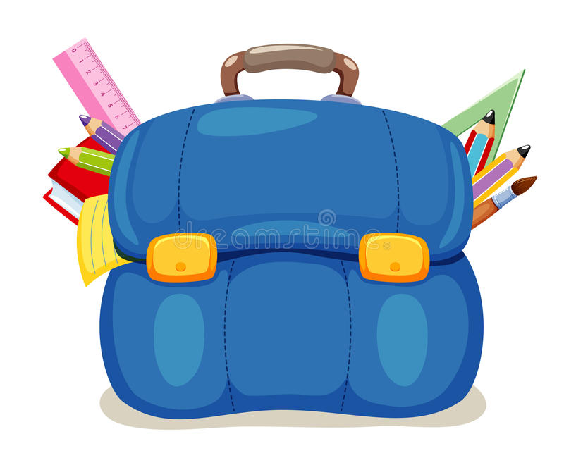 Download School Bag Stock Photo - Image: 26191090