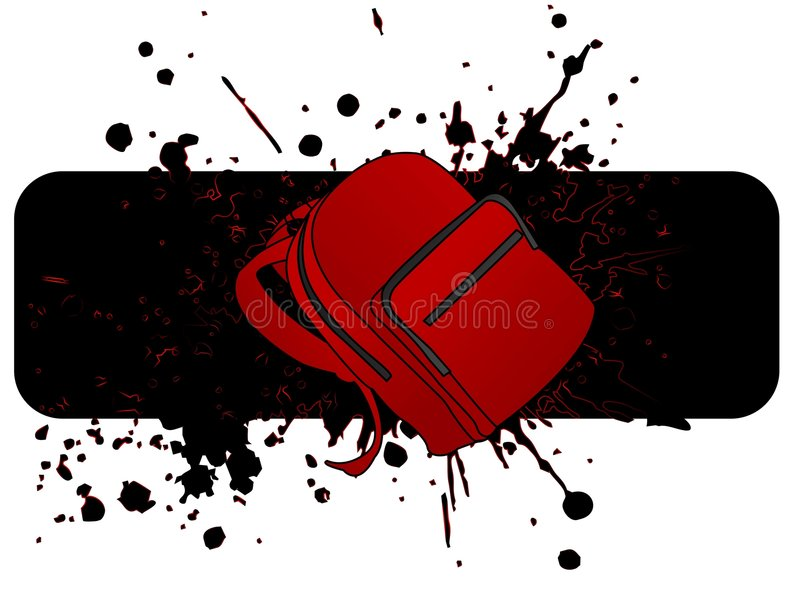 Download School bag stock illustration. Image of artwork, grunge - 5454314