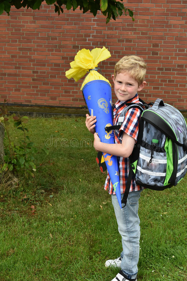 School beginns stock foto