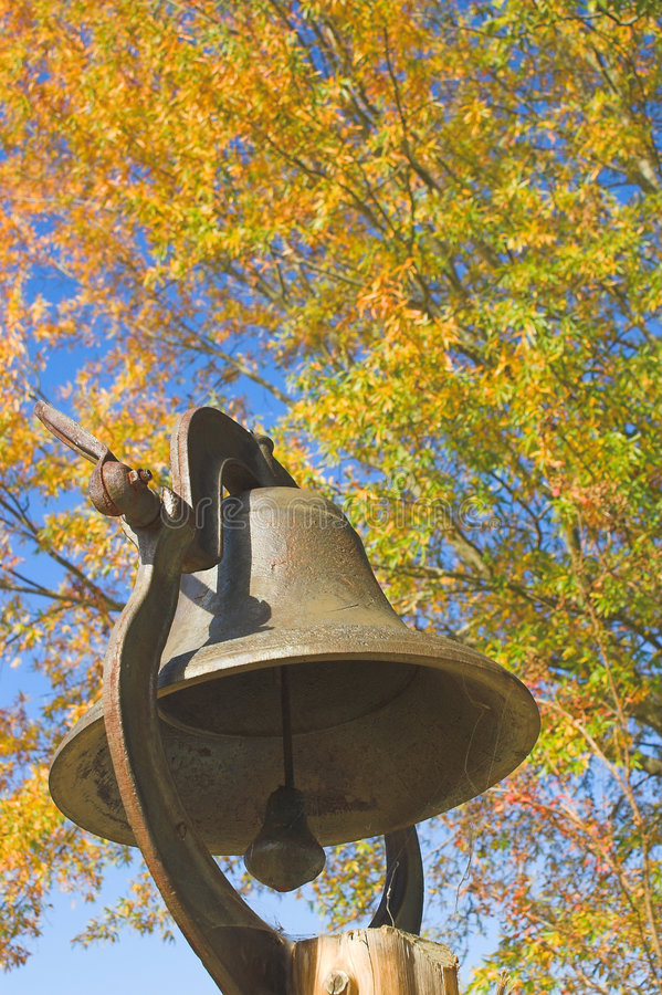 School Bell royalty free stock photo