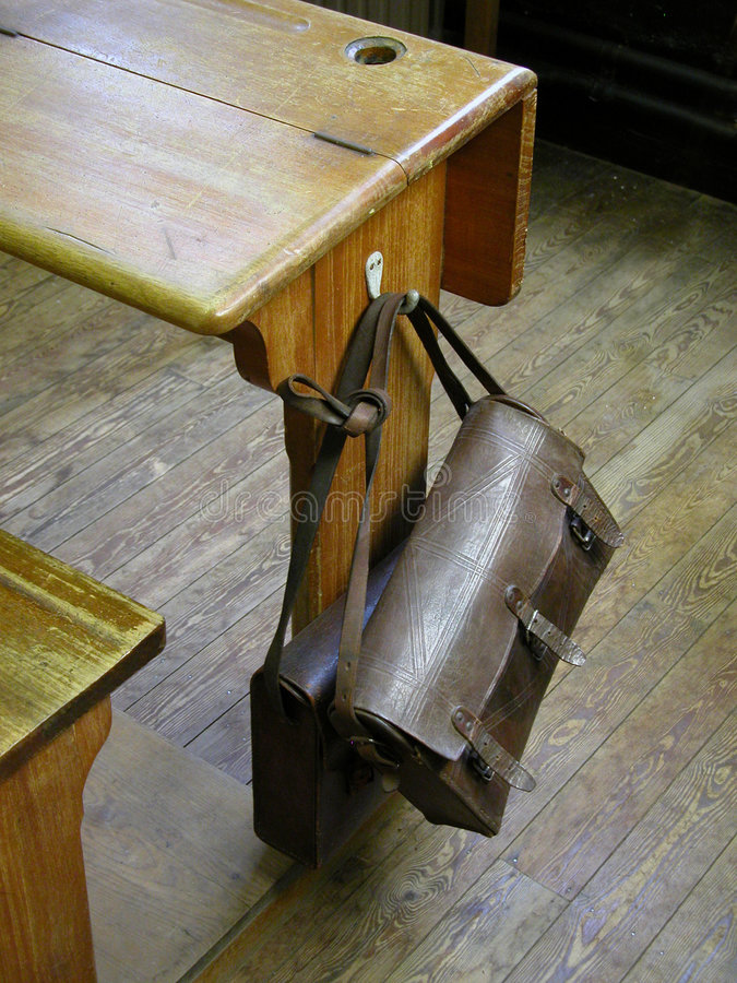 School bench stock images