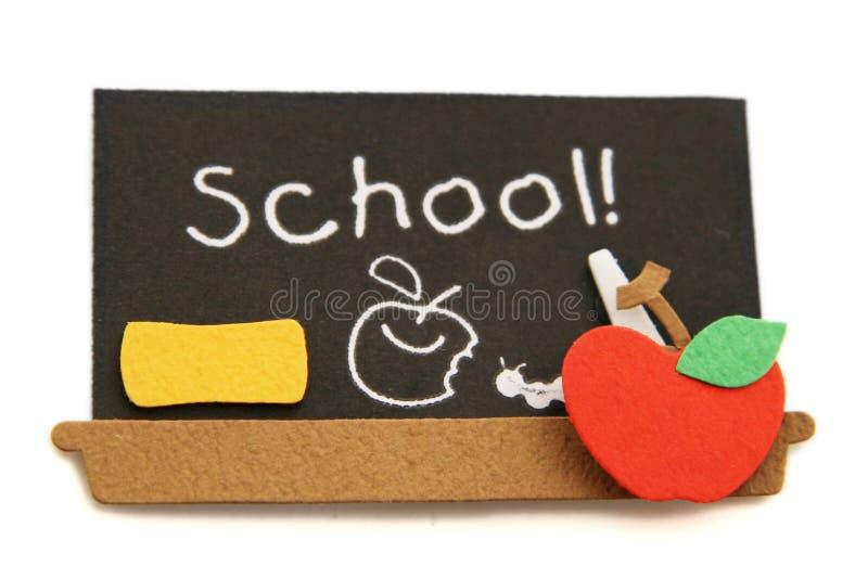 School Black Board royalty free stock photos