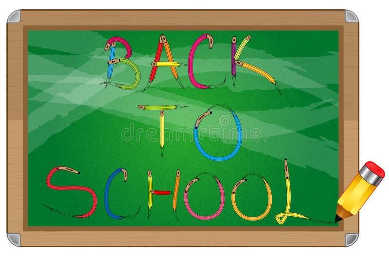 Download School blackboard stock vector. Image of alphabet, render - 25993251