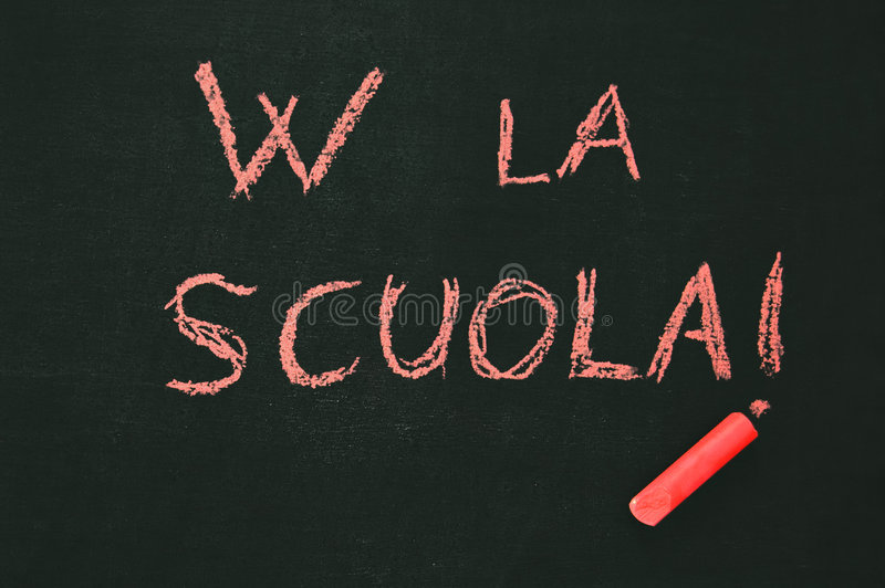 Download School blackboard stock photo. Image of crayon, autumn - 6178306