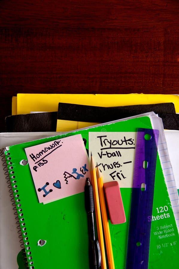 Download School books, supplies stock photo. Image of schooling - 2324286