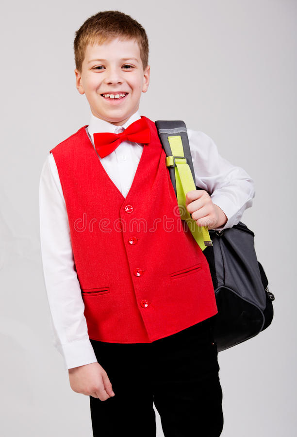 Download School boy stock photo. Image of caucasian, childhood - 28084506