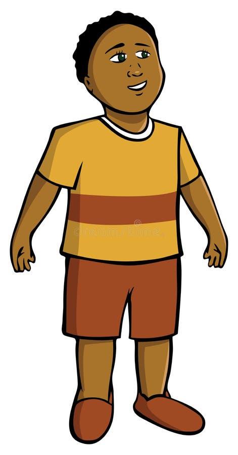 School boy stock illustration