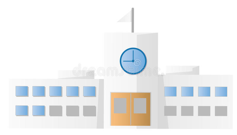 Download School building stock illustration. Image of classes - 10307518