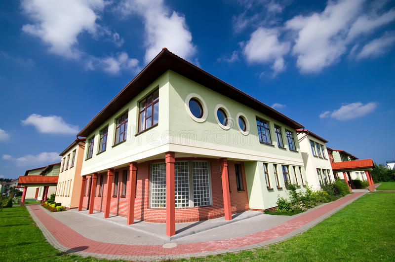 School building stock photography