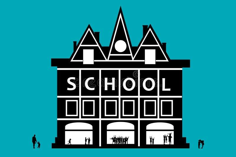School vector illustration