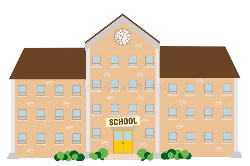 Download School building stock vector. Illustration of door, colorful - 33144868