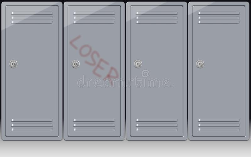 Download School bullying stock illustration. Image of sadness - 23391714