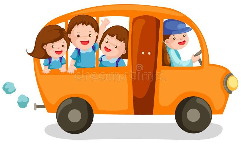 Download School bus stock vector. Image of outdoors, city, orange - 15003835