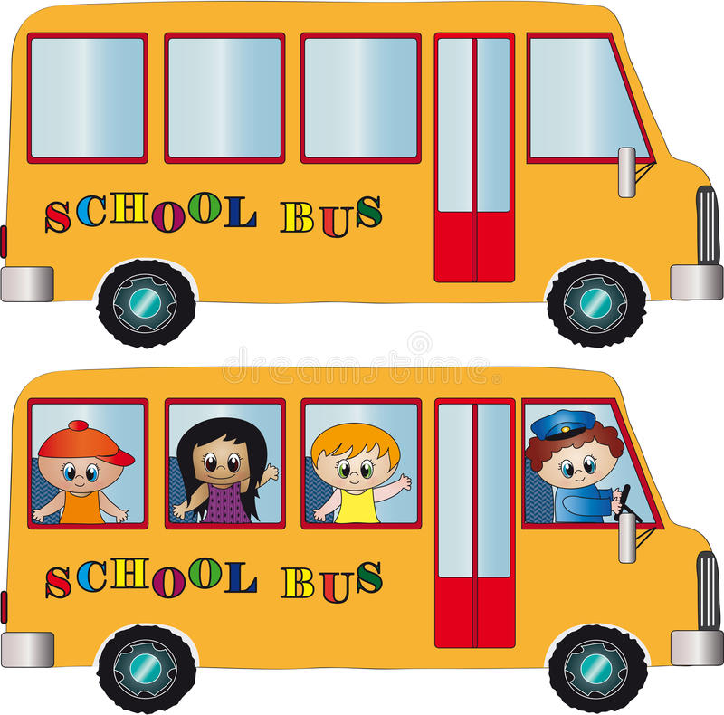 Free School Bus Royalty Free Stock Photos - 15080028