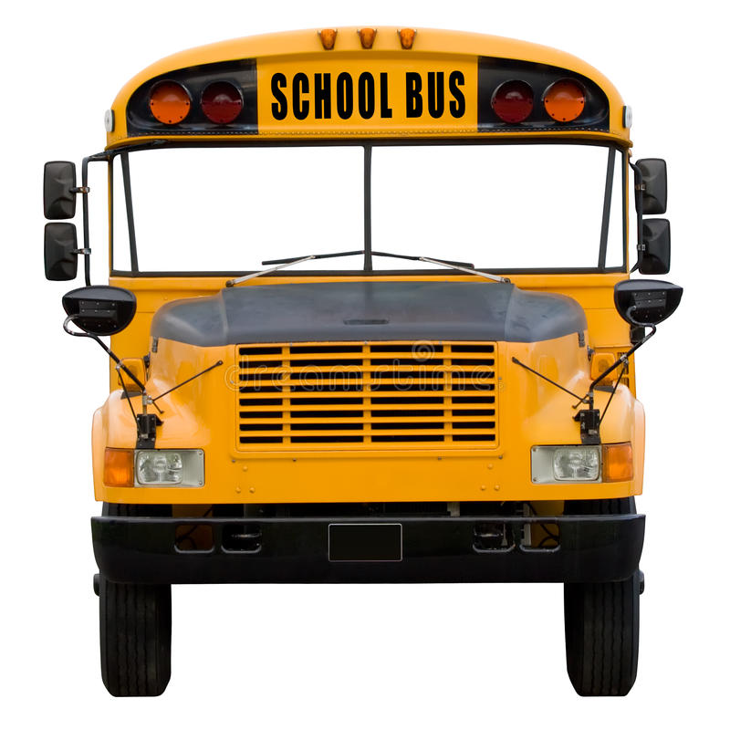 Download School bus stock image. Image of isolated, america, yellow - 15383779