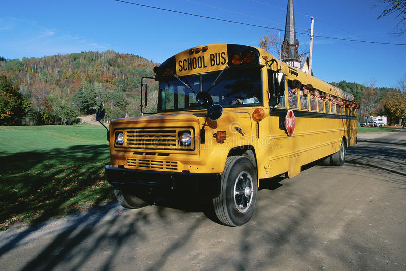 Download School bus editorial photo. Image of transit, people - 23162281