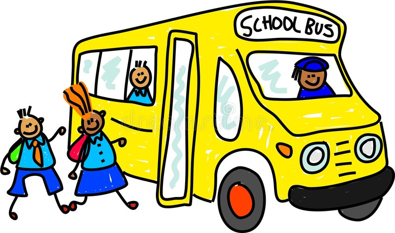 school bus stock illustration illustration of clipart 2513783 rh dreamstime com Bluebird School Bus Seats School Bus Route Maker