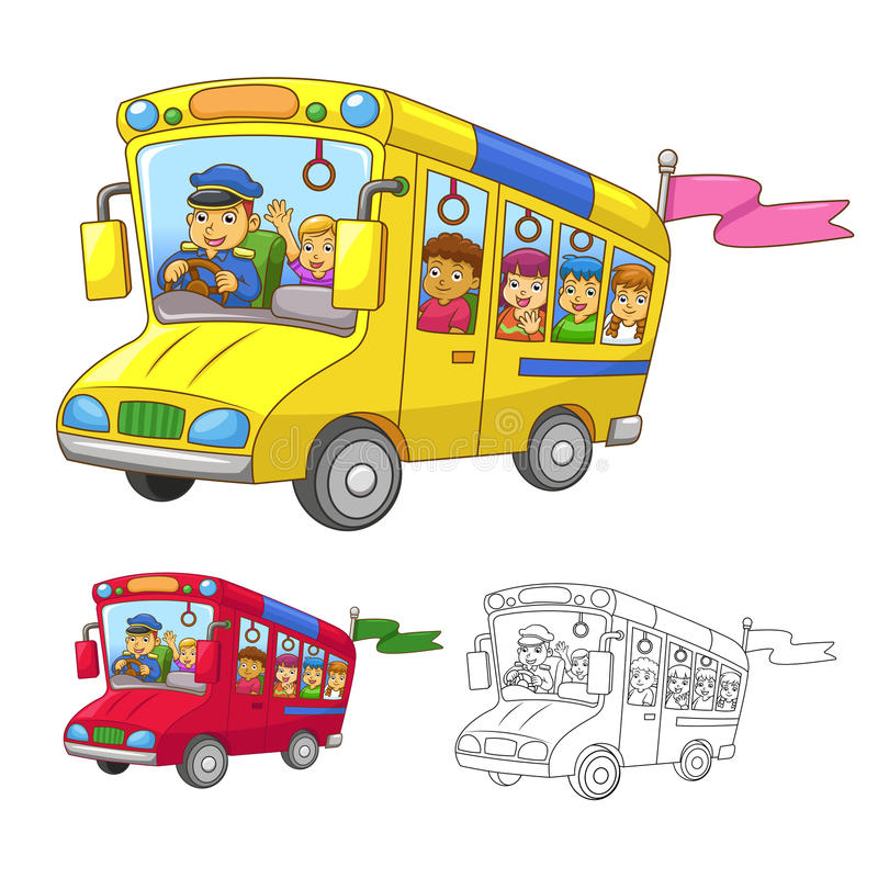 Free School Bus Royalty Free Stock Images - 34334079