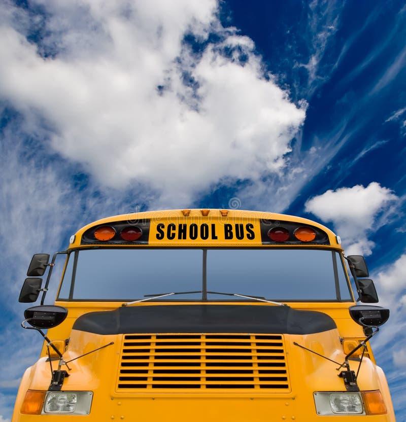 Download School bus stock image. Image of blue, headlight, yellow - 6230467