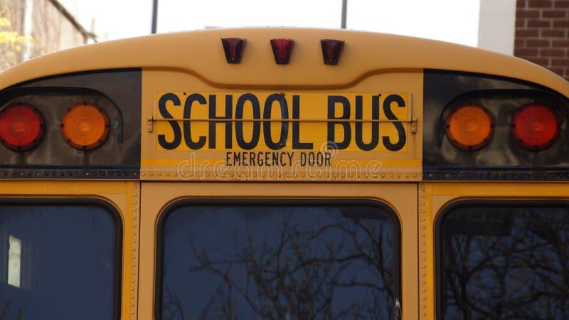 School bus stock photo