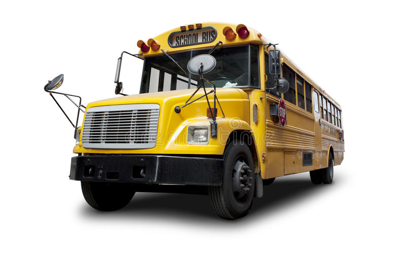 Download School bus stock image. Image of land, isolated, public - 30074441