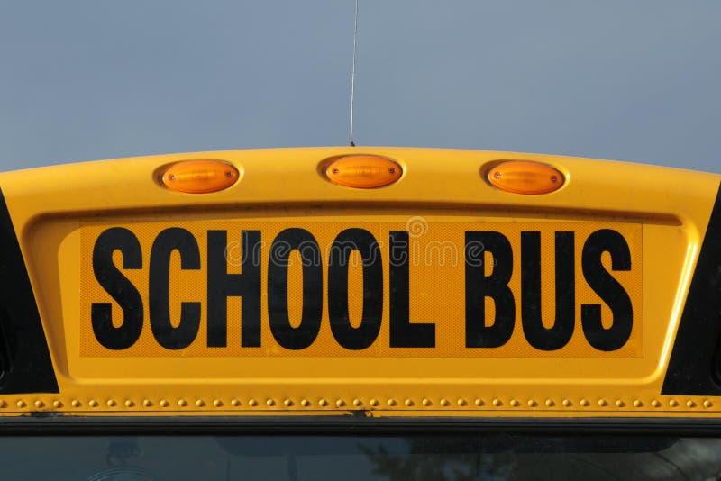 school bus sign royalty free stock photos image 11519348