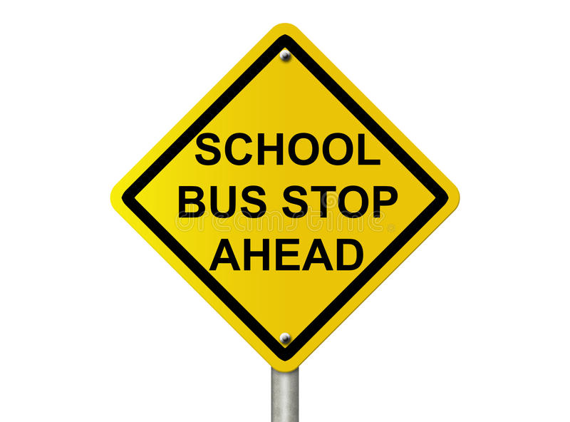 Download School Bus Stop Sign stock photo. Image of traffic, copy - 29360342