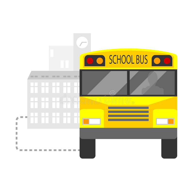 Download School bus stock vector. Illustration of townish, design - 33125232