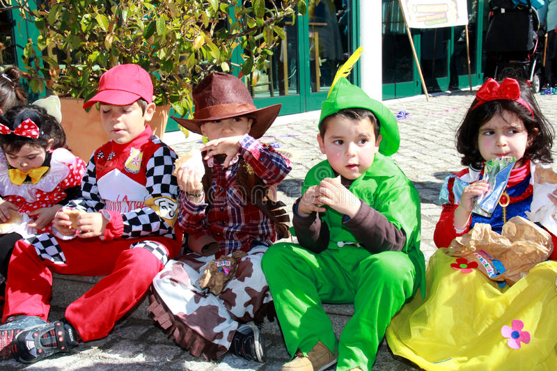School Carnaval royalty-vrije stock afbeelding