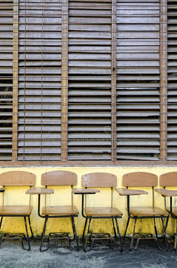 Download School Chairs stock photo. Image of student, school, texture - 22408386
