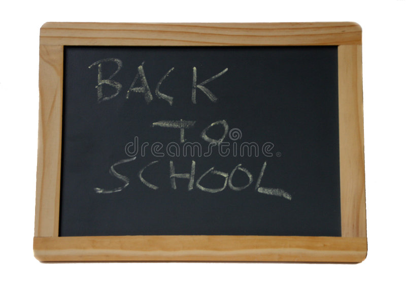 School Chalkboard Royalty Free Stock Photo