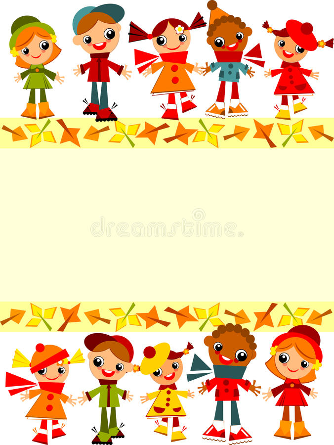 Free School Childrens Background Royalty Free Stock Photography - 32952177