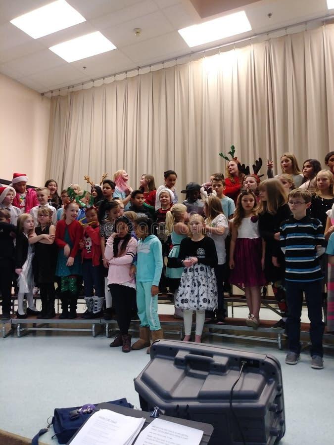 School concert stock image