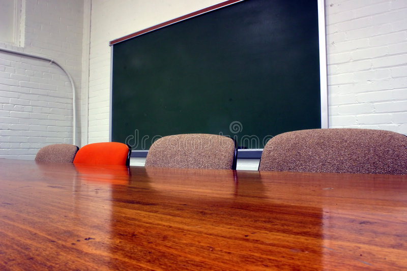 School Conference room royalty free stock photos