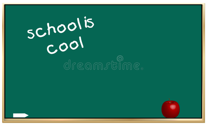 Download School is cool stock vector. Illustration of lecture, girl - 4307045