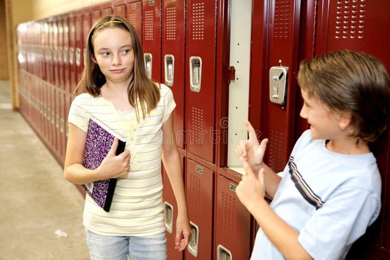 School Crush stock images