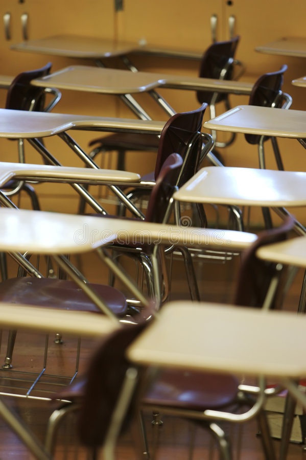 Download School desk chair stock photo. Image of education, uncomfortable - 4082860
