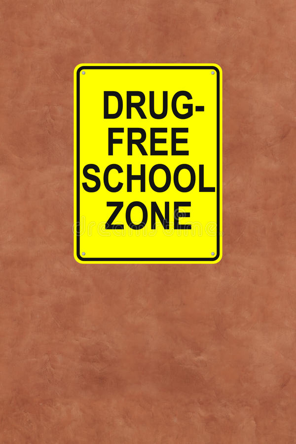 Download This School is Drug-Free stock photo. Image of school - 33620488