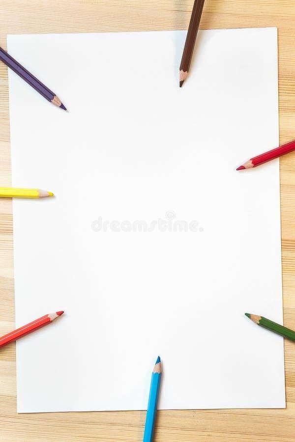 School en bureautoebehoren stock afbeelding
