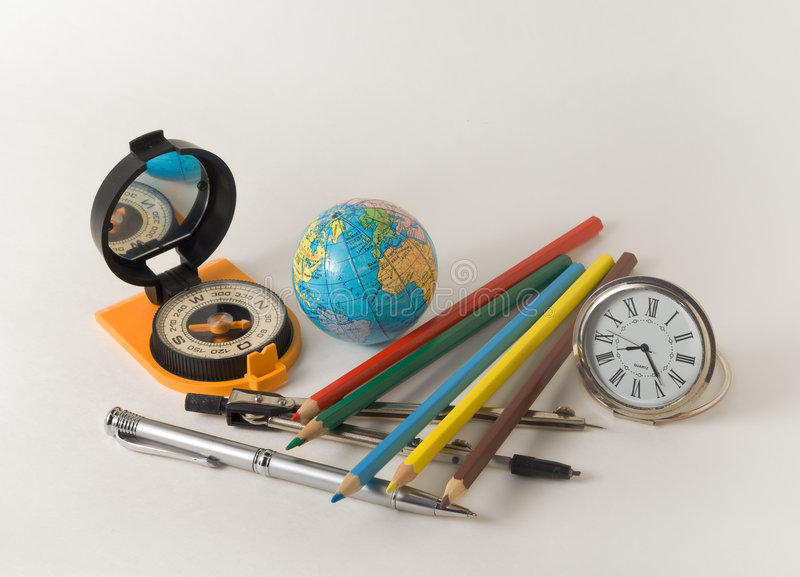 Download School Equipment 1 stock image. Image of globe, world - 7598537
