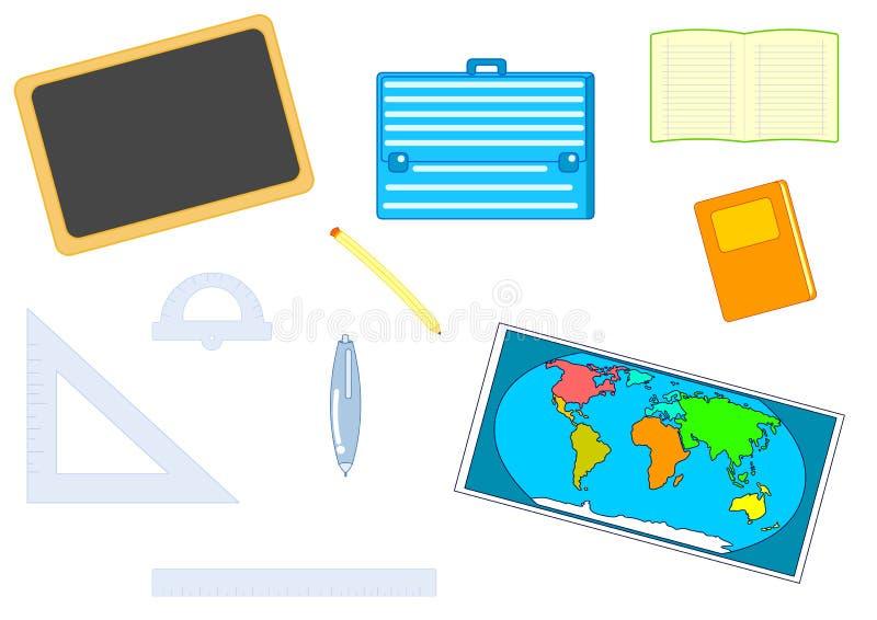 Download School equipment stock illustration. Image of drawing - 15833803