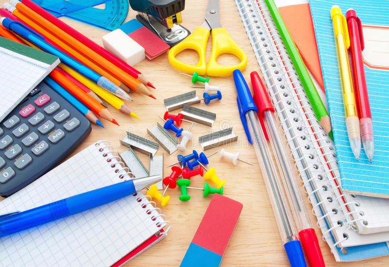 Download School equipment stock image. Image of painted, graphite - 18497883