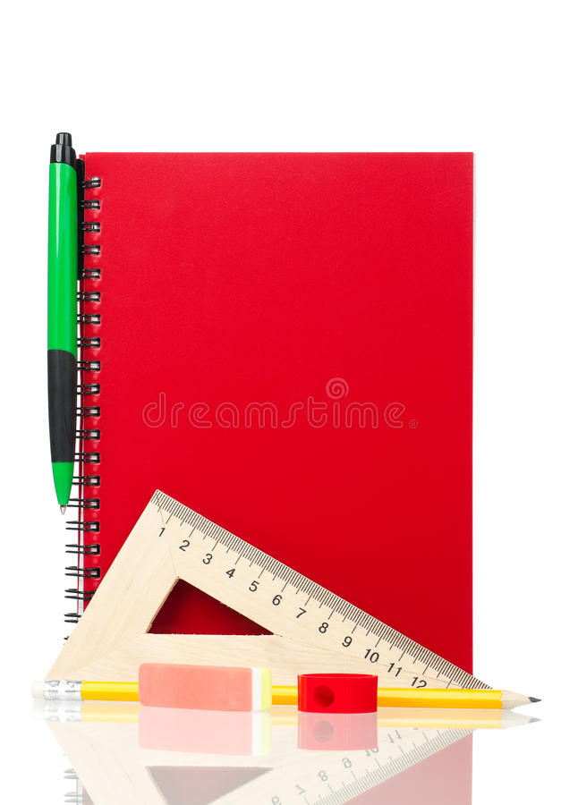 School exercise-book stock images