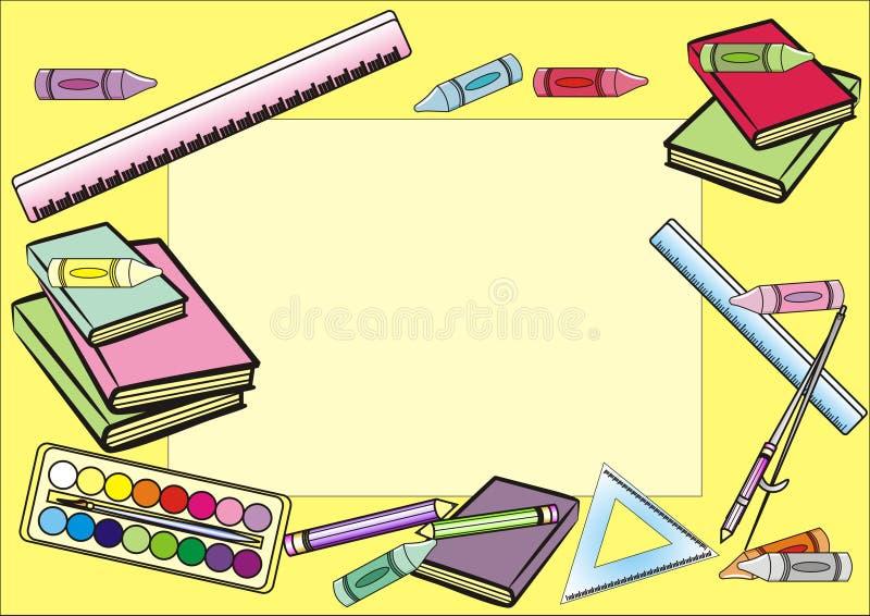 School Frame Stock Image