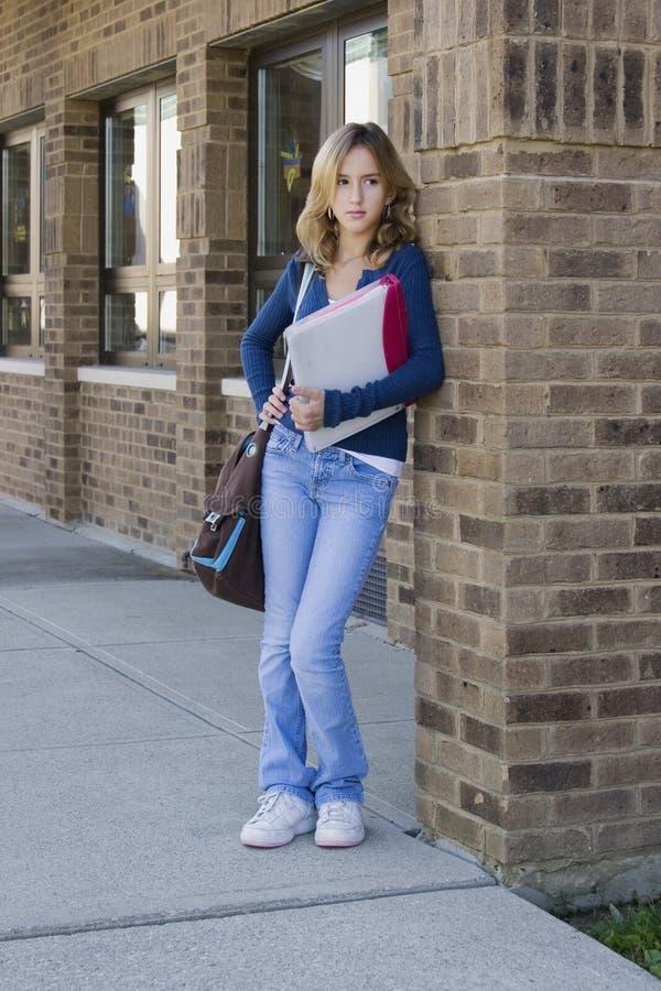 School Girl royalty free stock image