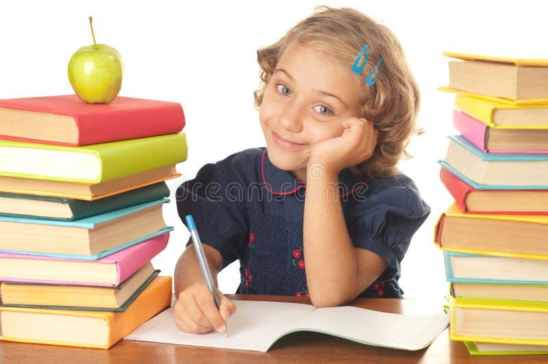 School-girl stock image
